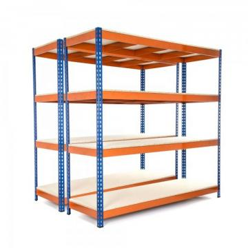 Adjustable Easy Install Industrial 4 Layers Warehouse Commercial Shelving Metal Rack Shelves