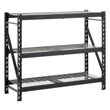 Stainless Steel Wire Store Floor Storage Supermarket Metal Retail Store Fruit Gondola Store Display Rack Stand Shelf