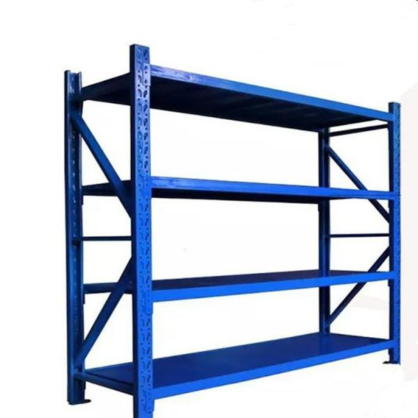 Boltless Rivet Angle Teardrop Cantilever Metal Steel Warehouse Pallet Storage Shelving
