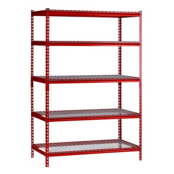 Storage Bin Metal Wire Shelving Unit for Spare Parts Organizing