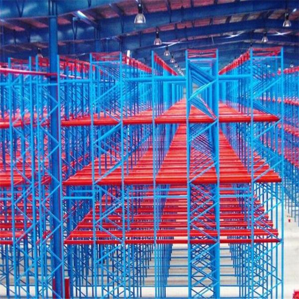 Industrial Warehouse Steel Double Deep Pallet Rack Manufacturer